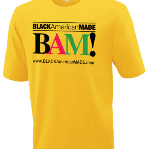 BAM! Tee with Logo & Website on front